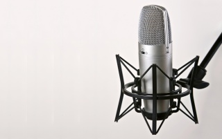 Studio mic wallpapers and stock photos