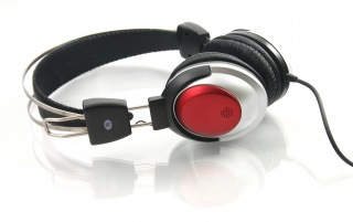 Stereo headphones wallpapers and stock photos