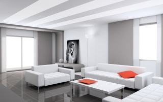 White interior wallpapers and stock photos