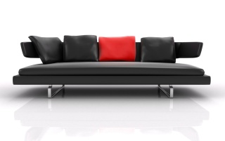 Black sofa wallpapers and stock photos