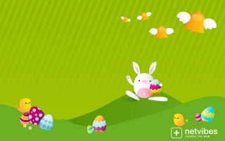 Easter bunies wallpapers and stock photos