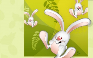 Happy bunnies wallpapers and stock photos