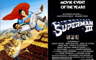 Superman III Promo wallpapers and stock photos