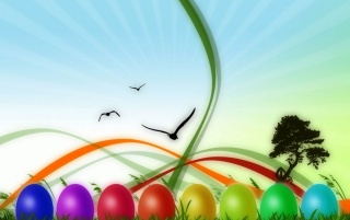 Colorful Easter wallpapers and stock photos