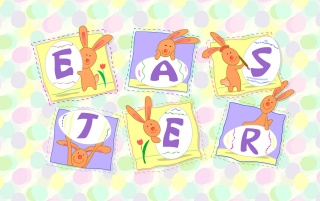 Easter letters wallpapers and stock photos