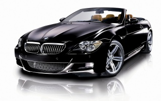 BMW M6 Front wallpapers and stock photos