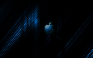 Apple Streak BLUE wallpapers and stock photos