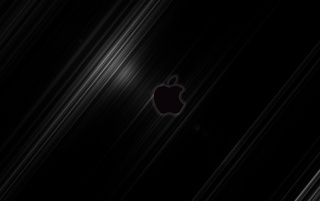 Apple Streak BLACK - By Jompa wallpapers and stock photos