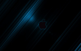 Apple Streak BLUE2 - By Jompa wallpapers and stock photos