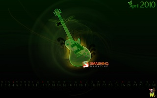 Green guitar wallpapers and stock photos
