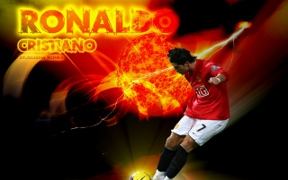 Red Cristiano Ronaldo wallpapers and stock photos