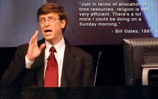 Bill Gates about religion wallpapers and stock photos