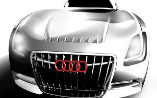Audi Nero vor wallpapers and stock photos