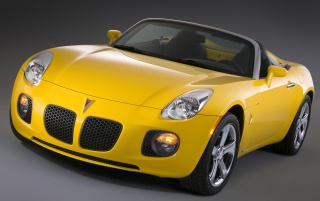 Pontiac Solstic oben wallpapers and stock photos