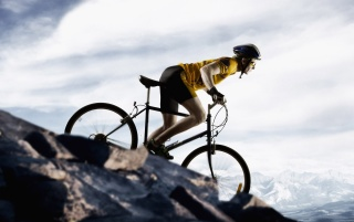 Mountain bike wallpapers and stock photos