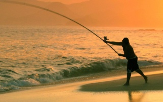 La pesca en el mar wallpapers and stock photos
