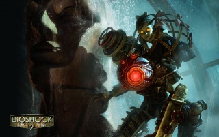 Bioshock 2 - Big Sister wallpapers and stock photos