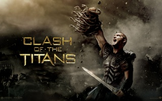 Clash of the Titans Held wallpapers and stock photos