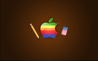 Apple retro wallpapers and stock photos