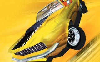 Crazy Taxi 3 wallpapers and stock photos
