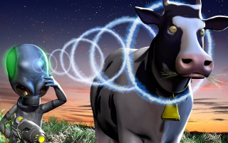Destroy all Humans! wallpapers and stock photos