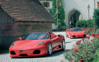 Ferrari F430 Novitec wallpapers and stock photos
