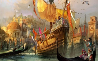 Anno 1404: Venice wallpapers and stock photos