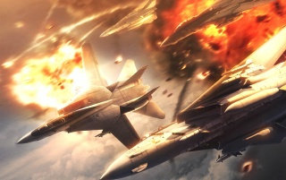 Ace Combat 5: The Unsung War wallpapers and stock photos