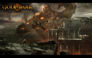 God of War III wallpapers and stock photos