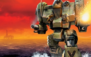 MechWarrior 4 wallpapers and stock photos