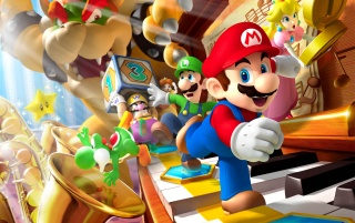 Mario Party DS wallpapers and stock photos
