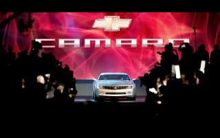 Camaro presentation wallpapers and stock photos