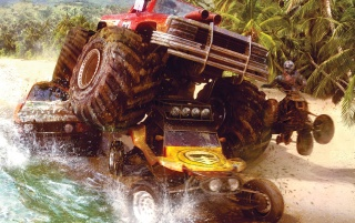 Motorstorm: Pacific Rift wallpapers and stock photos