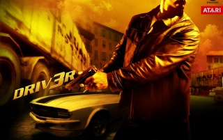 Driver 3 yellow wallpapers and stock photos