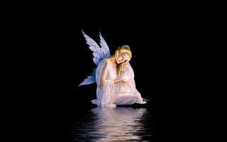 Night Angel wallpapers and stock photos