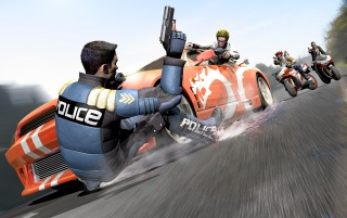 Pursuit Force wallpapers and stock photos