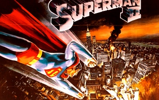 Superman II ~ Vintage Poster wallpapers and stock photos