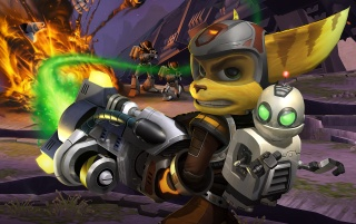 Ratchet & Clank wallpapers and stock photos