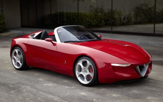 Alfa Romeo 2uettottanta Spider wallpapers and stock photos