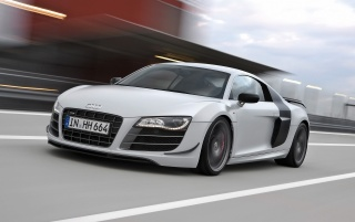 2010 Audi R8 GT front wallpapers and stock photos