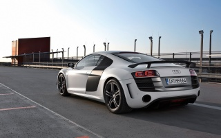 Audi R8 GT rear wallpapers and stock photos