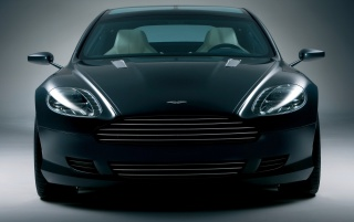 Aston Martin front wallpapers and stock photos