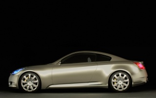 Infiniti Coupe left side wallpapers and stock photos