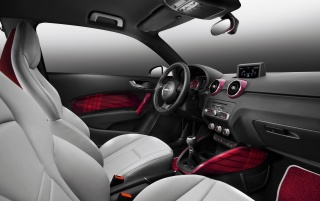 2010 Audi A1 Fashion Interior wallpapers and stock photos