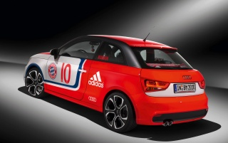 2010 Audi A1 FC Bayern wallpapers and stock photos