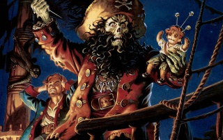 Monkey Island 2 wallpapers and stock photos