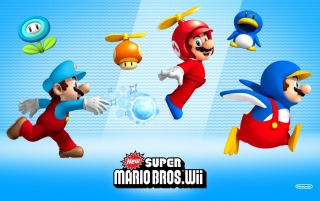 New Super Mario Bros. Wii wallpapers and stock photos