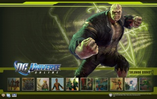 DC Universe Online Solomon wallpapers and stock photos