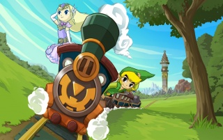Legend of Zelda: Spirit Tracks wallpapers and stock photos