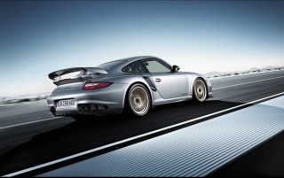 Porsche 911 GT2 RS rear wallpapers and stock photos